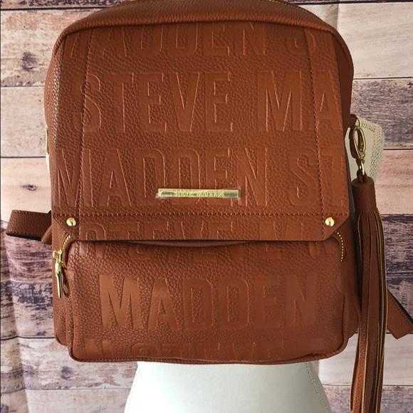 2b491af24d Steve Madden Bags   Steven Madden Btampa Logo Backpack Purse   Poshmark